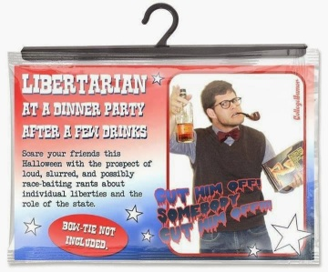 libertarian at a dinner party