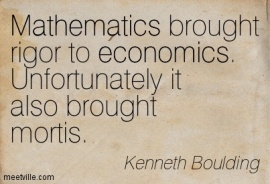 Keynes on the use of mathematics in economics | LARS P. SYLL