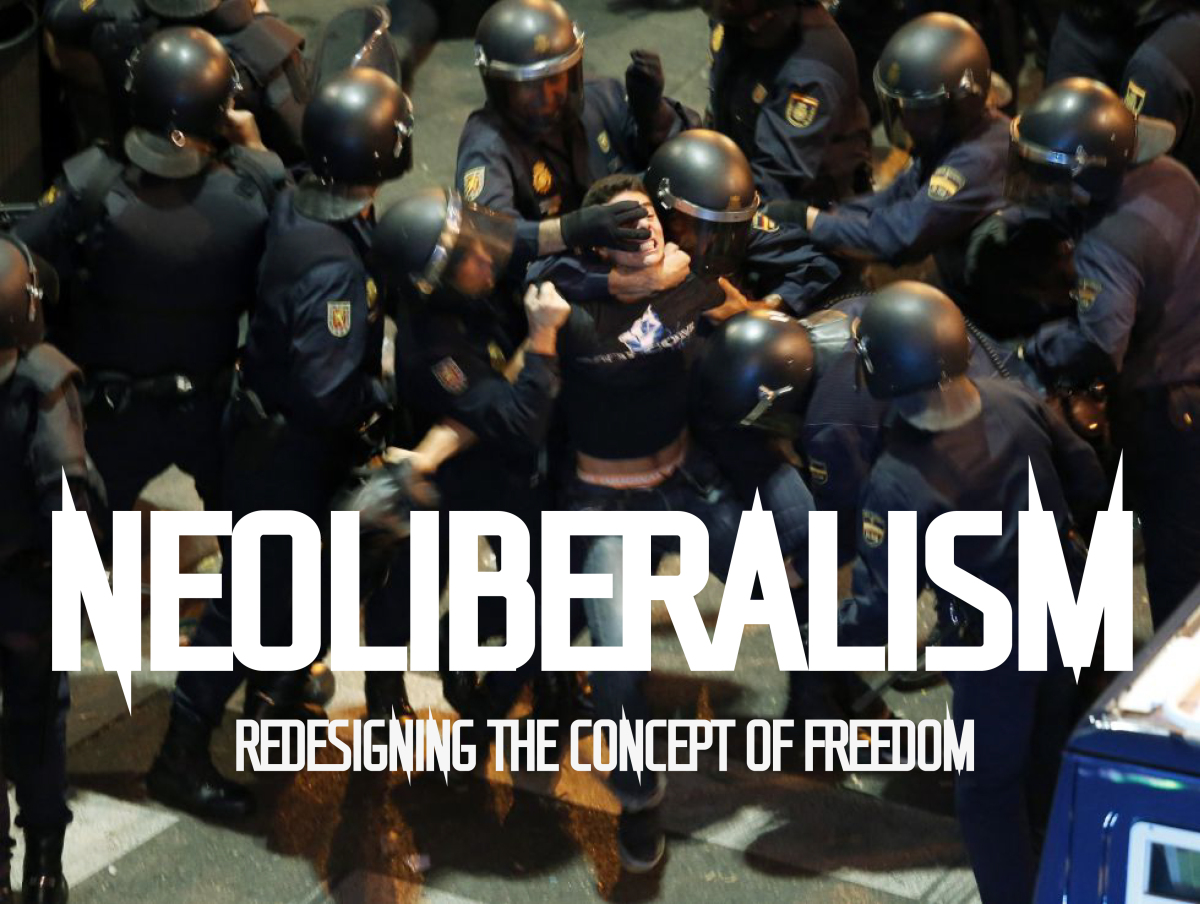neo liberalism Neo-liberalism a political philosophy that favors free trade, globalization, and openness to the free marketthe term is used frequently in an international context, but it may also refer to the politics of a single country.