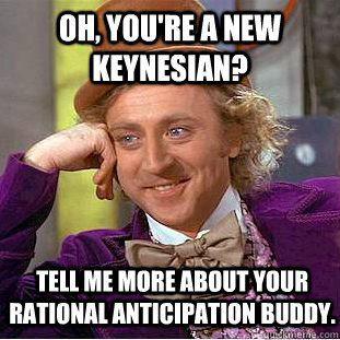 Image result for new keynesianism meme