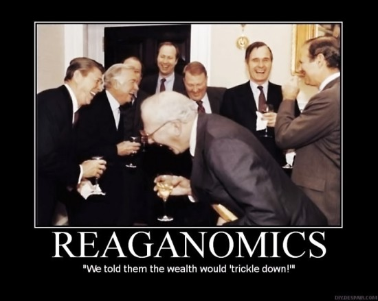 wealth will trickle down
