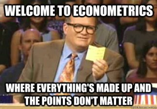 What should we do with econometrics? | LARS P. SYLL