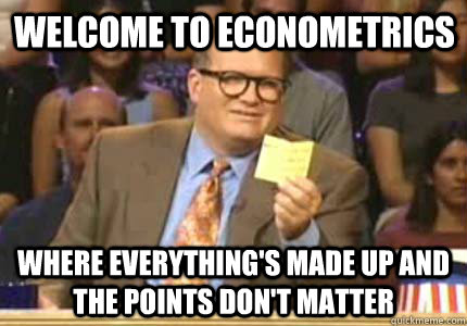 What should we do with econometrics?   LARS P. SYLL