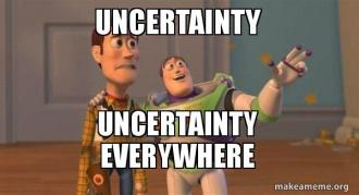uncertainty-uncertainty-everywhere