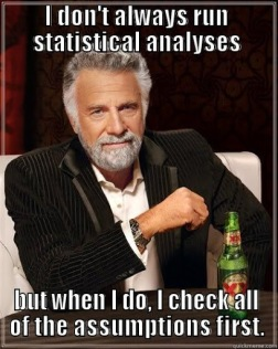 Checking your statistical assumptions | LARS P. SYLL